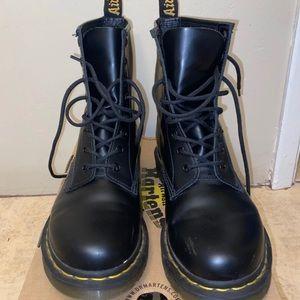 Black Doc Martens (size 9)